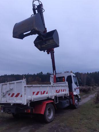 Transport Wywrotka + HDS