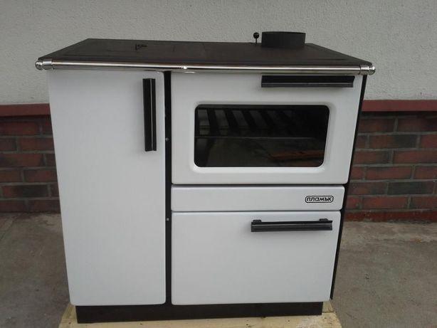 Kuchnia węglowa, piec z funkcją c.o. PLAMAK B-12 15 KW.