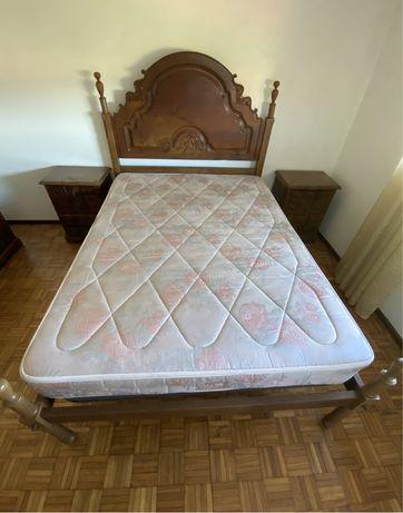Quarto de casal mobilia antiga