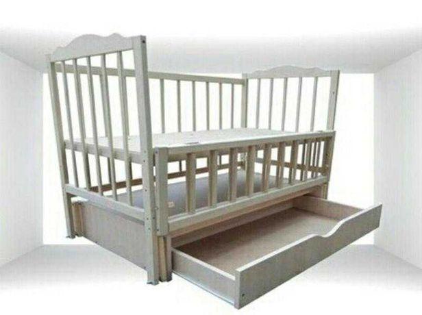 Дитяче ліжечко-маятник нове