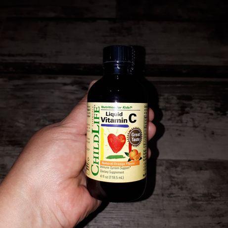 Essentials витаминC в жидкой форме натуральный апельсиновый вкус