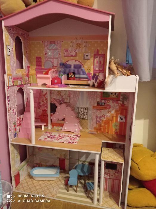 Domek dla lalek drewniany duży Ciechanów - image 1