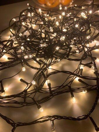 Новогодняя гирлянда светодиодная 24 метра LED 100,200,300,500