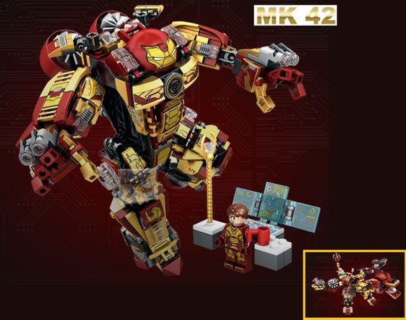 NOVO Set / Kit Robot Homem de Ferro MK42 (compativel com Lego)