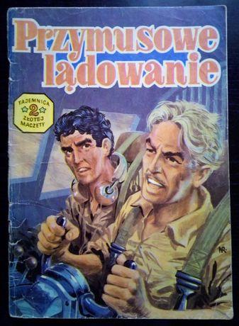"""komiks """"Przymusowe lądowanie"""" 1985 rok wydanie 1"""