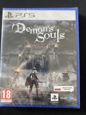 Gra demon souls PS5 NOWA