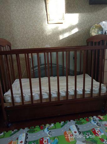 Детская Кровать Наталка . матрас.