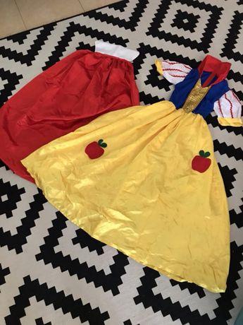 Fato de Carnaval Halloween disfarce Branca de Neve Disney