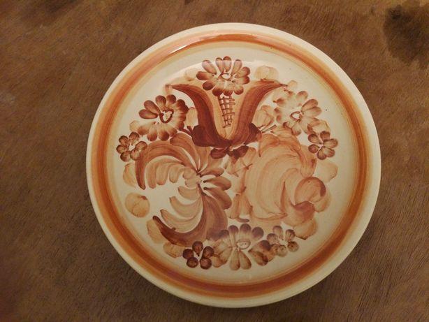 Talerz ręcznie malowane rękodzieło Włocławek