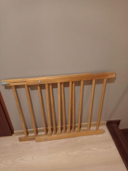 Bramka barierka zabezpieczająca drewniana regulowana Gostyń - image 1