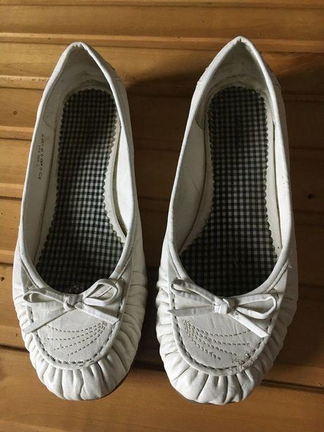 Białe baletki Graceland rozmiar 42 wysyłka 5zl