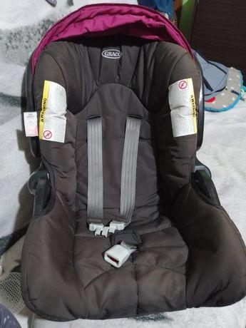 Fotelik samochodowy- nosidełko graco+adapter