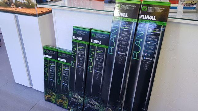 Calha led fluval plant 59w nova para aquário