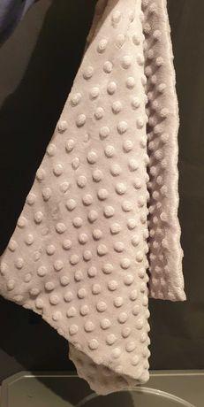 Powłoczka na poduszkę z pluszu.