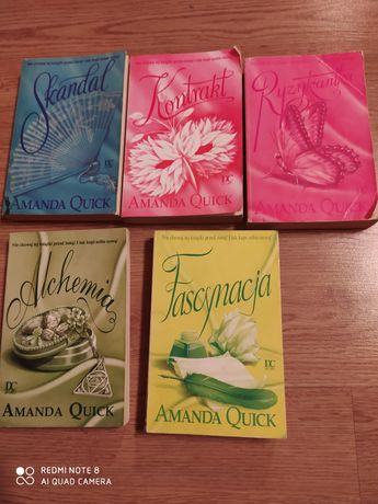 Książki Amanda Quick