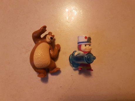 figurki z bajki Masza i Niedźwiedź  zestaw