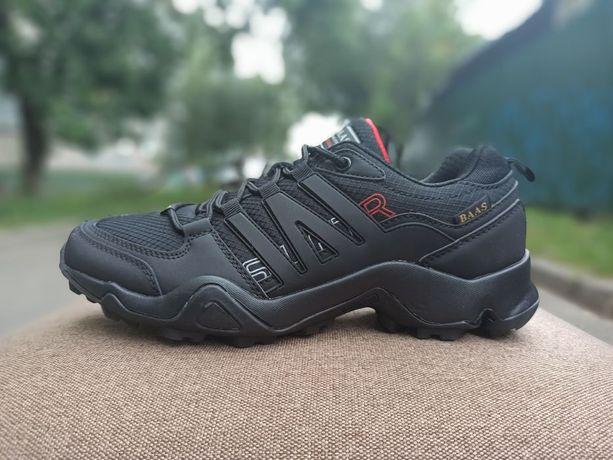 Кроссовки трекинговые осень мужские, Baas, черные кроссовки