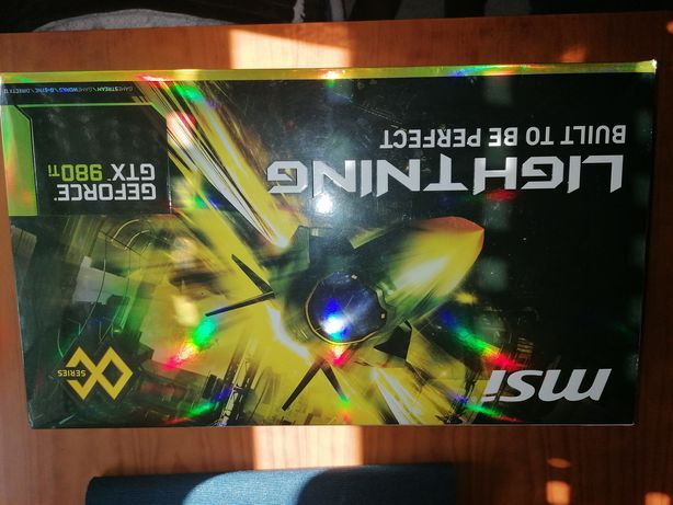 Msi Lightning Gtx 980TI