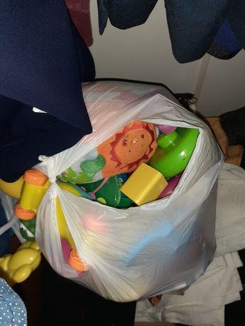 Великий пакет іграшок ирушек, брязкальця, гризунці різні