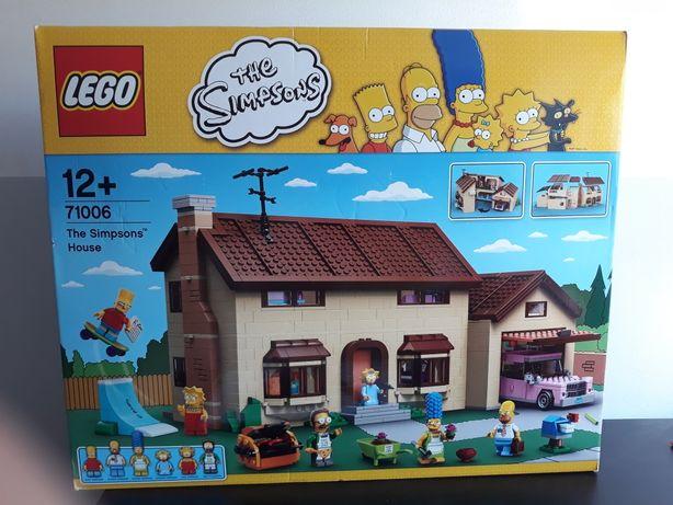 Simpsons Casa Lego
