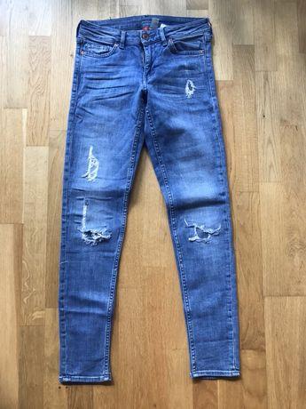 Jeansy rurki H&M rozm 36