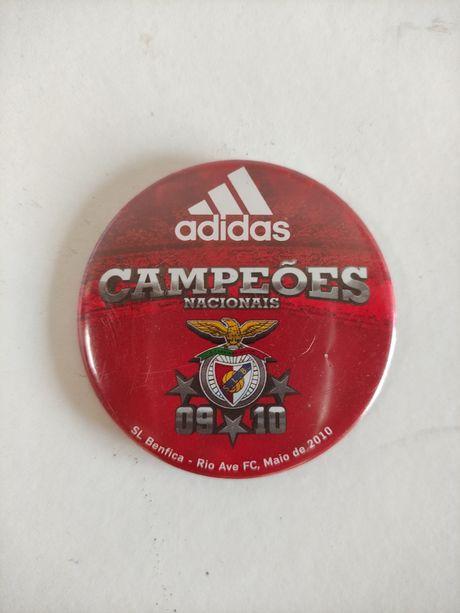 Pin crachá Benfica campeão 2009/2010