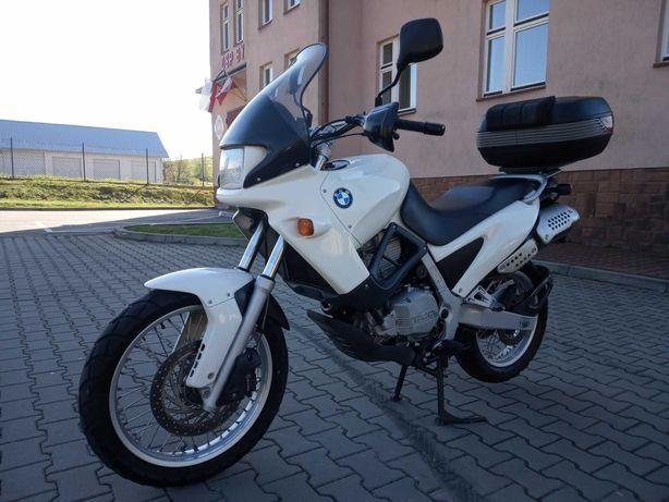 BMW GS 650 F. przebieg  28000 km