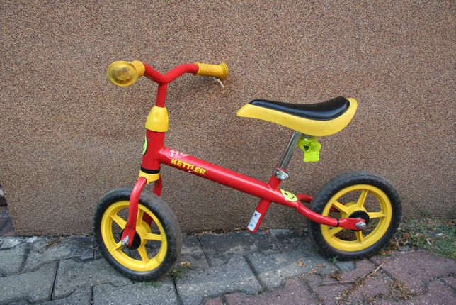 Rowerek biegowy 10'' kółka Kettler czerwony