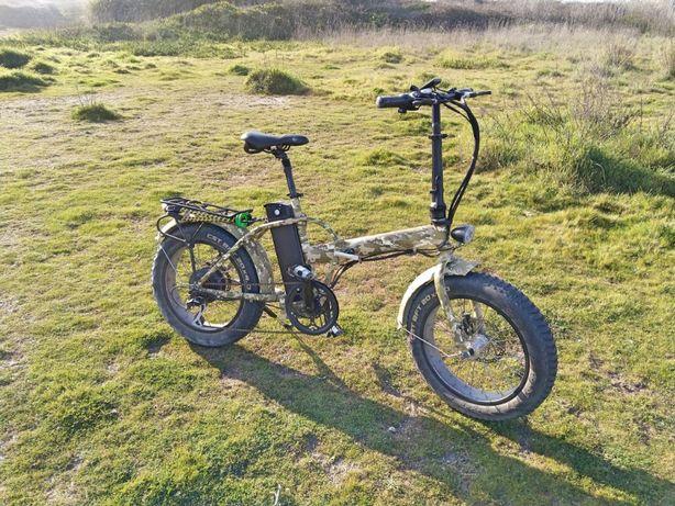 Bicicleta elétrica dobrável Tucano Monster 20