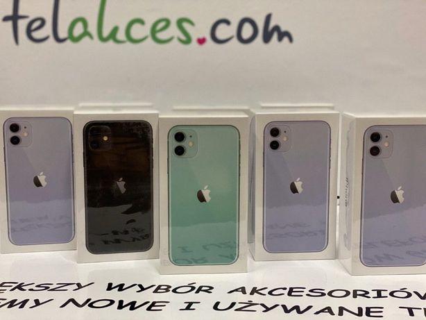 IPHONE 11 128Gb Purple/Green/Black Sklep ŁÓDŹ Manufaktura 3449ZŁ