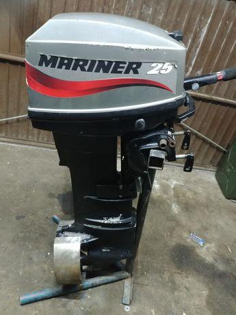Silnik zaburtowy mariner(mercury)25 km rumpel
