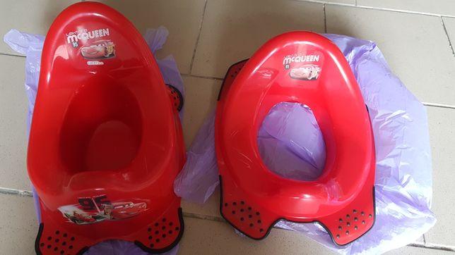Nasadka na toalete #wc i nocnik dla chłopca #zygzak mcqueen