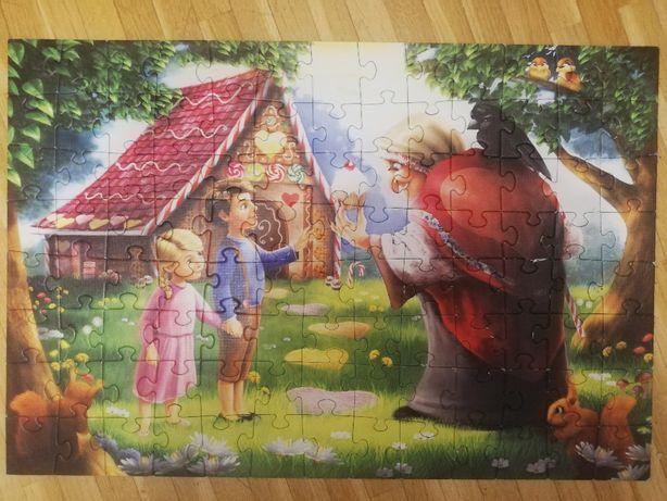 Puzzle Jaś i Małgosia Trefl 100