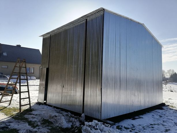 Lekka Hala wiata garaż blaszany 5x8 10x8 15x6 20x8
