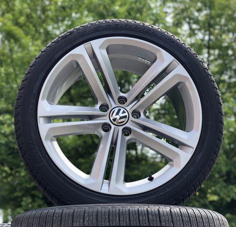 Диски VW Tiguan R19 Mallory 5x112 резина 8мм 255/40 audi Q3 Passat CC