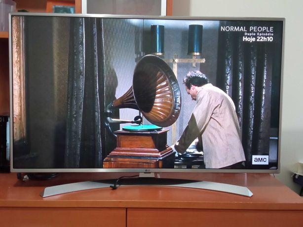 Smart Tv LG 49UJ701V - UHD 4K - Comando Magico