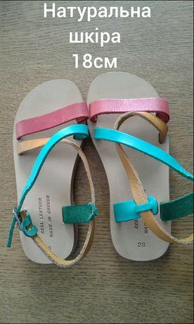 Босоніжки для дівчинки сандалі