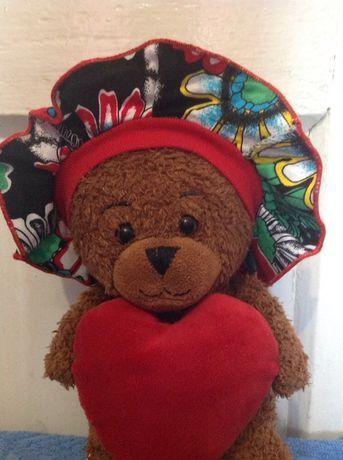 Шапочка- панамка для новонародженої дівчинки або для ляльки Бебі-Борн