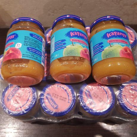 Детское фруктовое пюре
