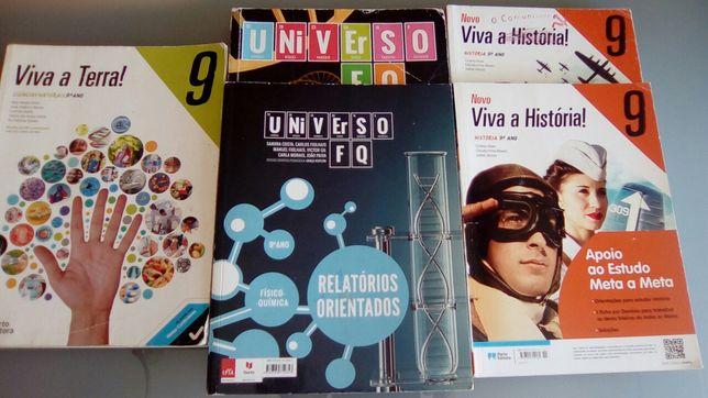 Livros Escolares 9 Ano
