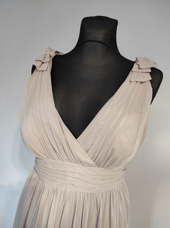 Wizytowa sukienka maxi