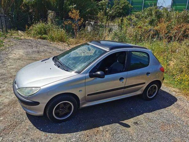 Peugeot 206 teto panoramico