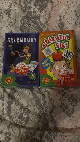 Gra planszowa Kalambury mini i Orientuj się!