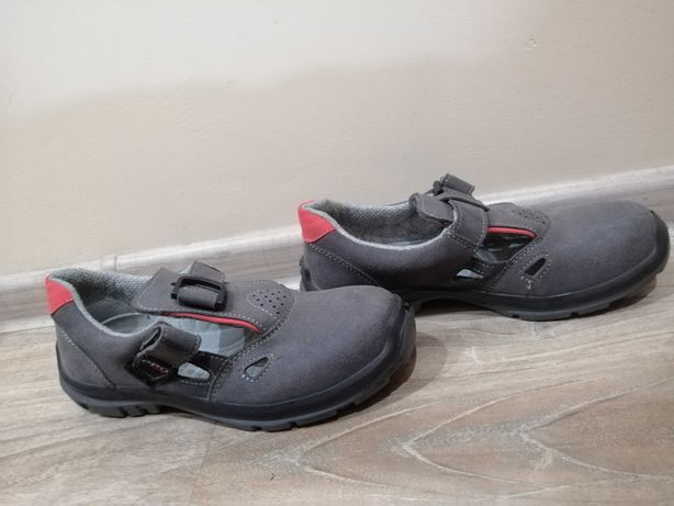 Buty robocze z metalem