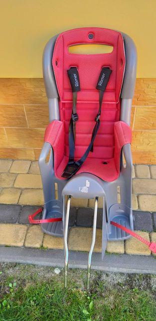 Fotelik rowerowy romer jockey comfort z uchwytem