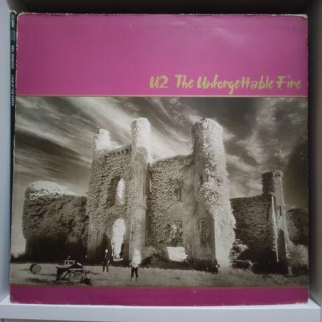U2 - Unforgettable Fire - 1984 rok -  stan: VG+