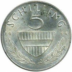 Колекційна монета 5 шилінгів 5 SCHILLING