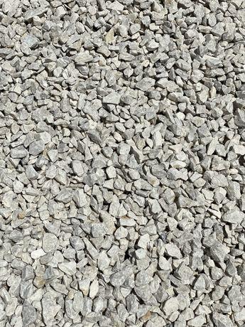 Biały Kamień 8-16 mm GRYS ŚMIETANKOWY Biały Kamień do Ogrodu Żwir