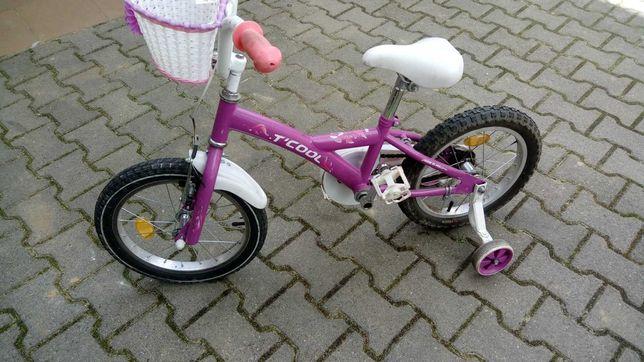 Rowerek 16 dla dziewczynki