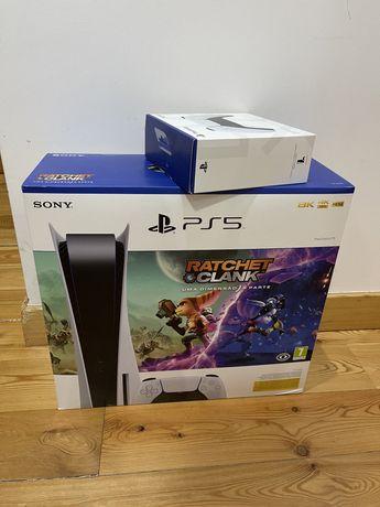 PlayStation 5 standard (selada) com jogo e comando extra